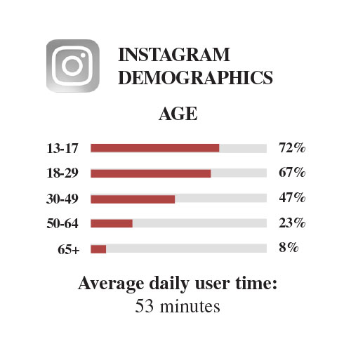 Instagram user demographics